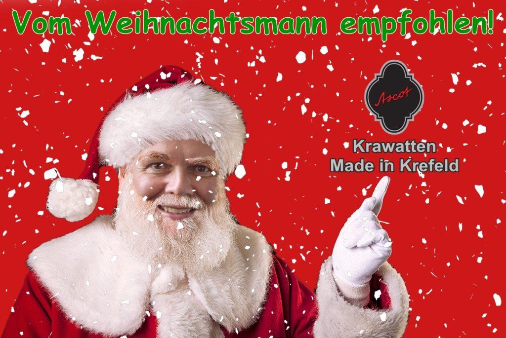 Vom Weihnachtsmann Empfohlen - Ascot