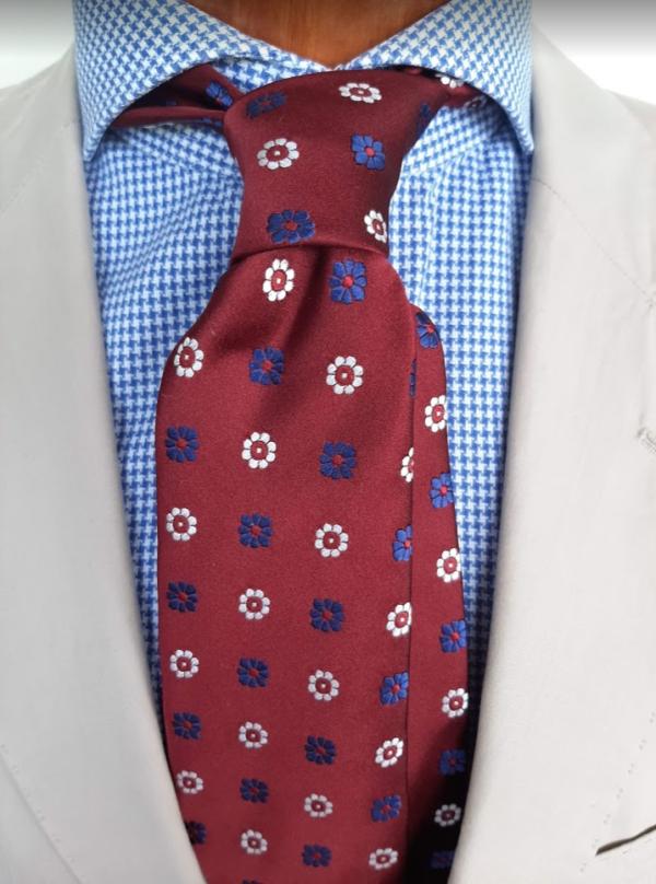 Krawatte Hochrot